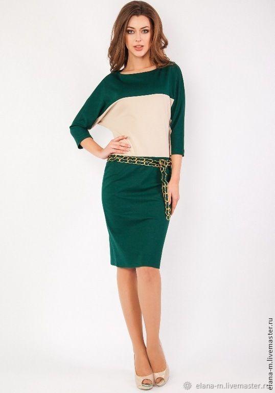 Стильное, деловое платье свободного кроя для модных женщин, Платья, Москва,  Фото №1