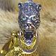 Подарки для мужчин, ручной работы. Коготь медведя в литом серебре 925 пробы. bear-wolf. Интернет-магазин Ярмарка Мастеров.