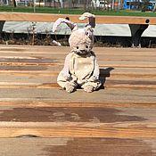Мягкие игрушки ручной работы. Ярмарка Мастеров - ручная работа Зайка Горошенка. Handmade.