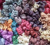 Материалы для творчества ручной работы. Ярмарка Мастеров - ручная работа Шебби лента шелковая. Handmade.