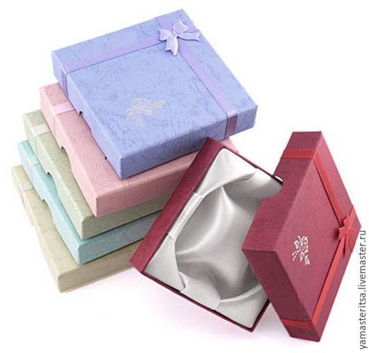 Упаковка ручной работы. Ярмарка Мастеров - ручная работа. Купить Подарочная коробочка 9х9х2 картон для браслетов. Handmade. Коробочка