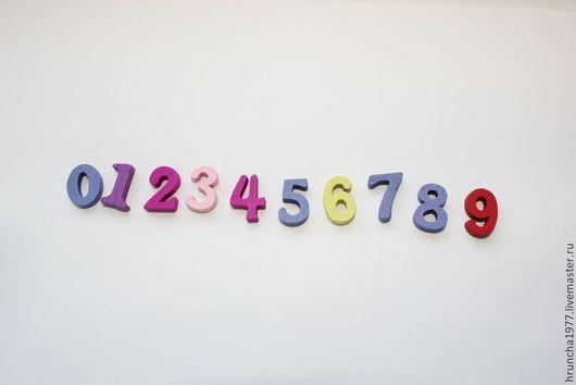 Открытки и скрапбукинг ручной работы. Ярмарка Мастеров - ручная работа. Купить деревянные цифры. Handmade. Деревянные цифры, пуговицы для скрапбукинга