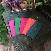 Сумки и аксессуары handmade. Livemaster - original item Wallet genuine leather color in stock. Handmade.