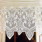 "Для дома и интерьера handmade. Livemaster - original item Curtain ""Delicate patterns"". Handmade."