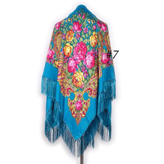 Шали, палантины ручной работы. Ярмарка Мастеров - ручная работа. Купить Шерстяной платок с бахромой. Handmade. Бахрома, платок, шерсть