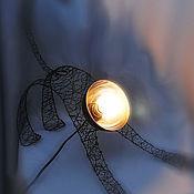 Для дома и интерьера ручной работы. Ярмарка Мастеров - ручная работа Светильник Чёрная Кошка. Handmade.