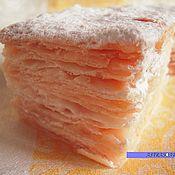 Косметика ручной работы handmade. Livemaster - original item Soap Cake Napoleon - gift of a woman. Handmade.