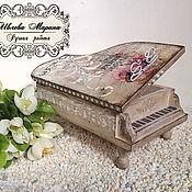 Для дома и интерьера handmade. Livemaster - original item Box-piano