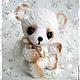 Мишки Тедди ручной работы. Ярмарка Мастеров - ручная работа. Купить Медвежонок - ангел. Handmade. Белый, мишка-ангел, синтепух