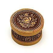 handmade. Livemaster - original item box made of birch bark