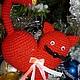 Подарки для влюбленных ручной работы. кошка-сердце. Sladja. Интернет-магазин Ярмарка Мастеров. Подарок девушке, для девушки, кошка в подарок