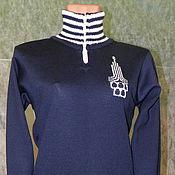 Одежда ручной работы. Ярмарка Мастеров - ручная работа Тату-свитер -  Олимпийка. Handmade.
