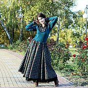 """Платье из коллекции """"Графиня"""" (изумрудное джерси)"""