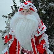 Мягкие игрушки ручной работы. Ярмарка Мастеров - ручная работа Дед Мороз. Handmade.