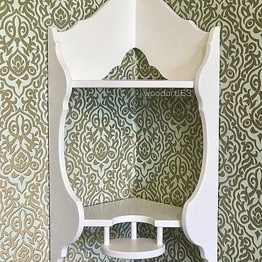 Мебель ручной работы. Ярмарка Мастеров - ручная работа Угловая полочка для Икон. Handmade.
