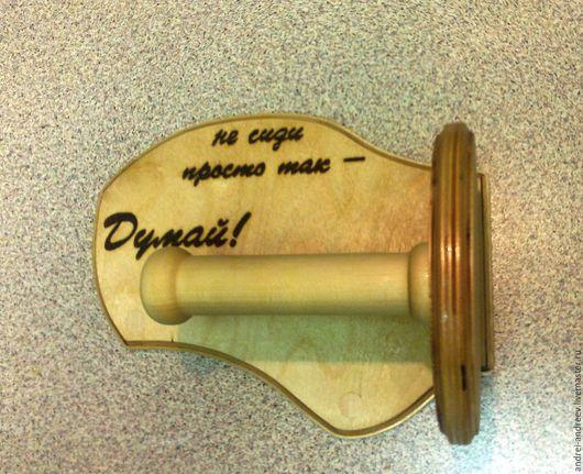 """Ванная комната ручной работы. Ярмарка Мастеров - ручная работа. Купить """"не сиди просто так - думай"""". Handmade."""