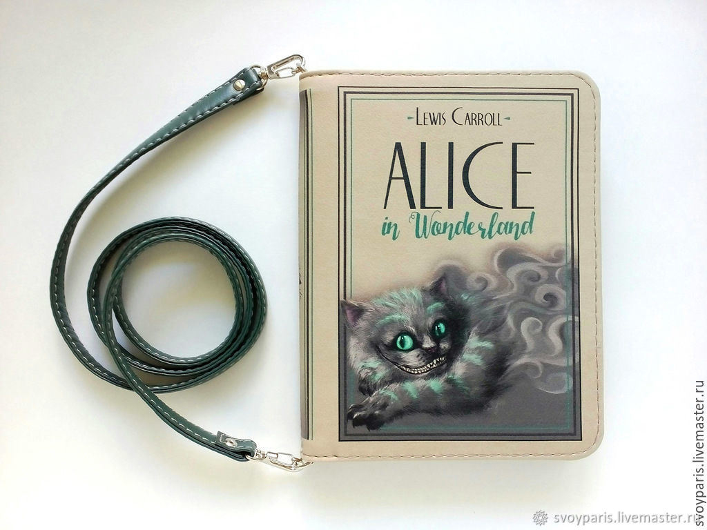 """Небольшой клатч """"Alice in Wonderland"""""""