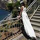 Пляжные платья ручной работы. Платье-трансформер Инфинити в пол белое. Dudu-dress. Ярмарка Мастеров. Белое платье