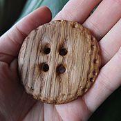 Материалы для творчества handmade. Livemaster - original item Custom wooden buttons. Handmade.