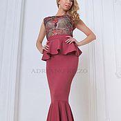 """Одежда ручной работы. Ярмарка Мастеров - ручная работа Платье """"Венера"""" - платье в пол - платье рыбка - вечернее платье. Handmade."""