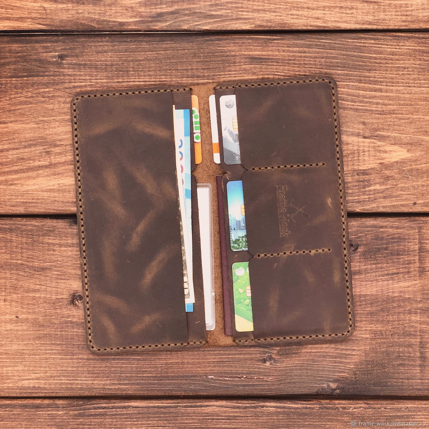 Genuine leather wallet London, Purse, Moscow,  Фото №1
