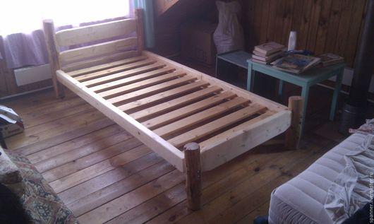 Мебель ручной работы. Ярмарка Мастеров - ручная работа. Купить Каркас кровати. Handmade. Массив дерева, Дерево натуральное