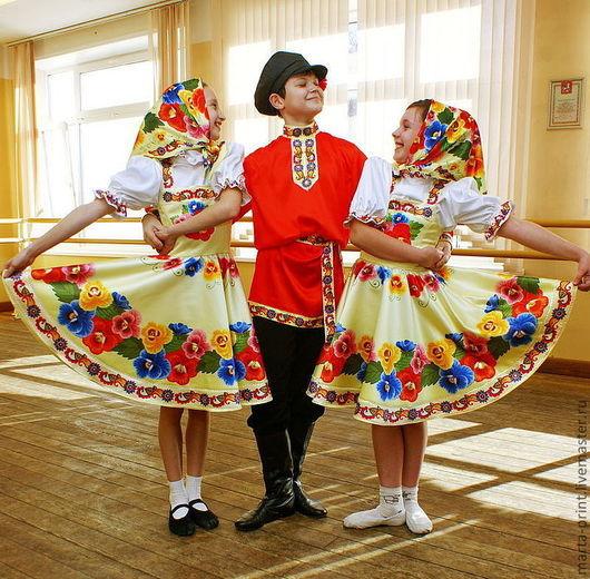 Танцевальный костюм, Русский танцевальный костюм., Сценические, народные и танцевальные костюмы. Russian Dance, русский танец