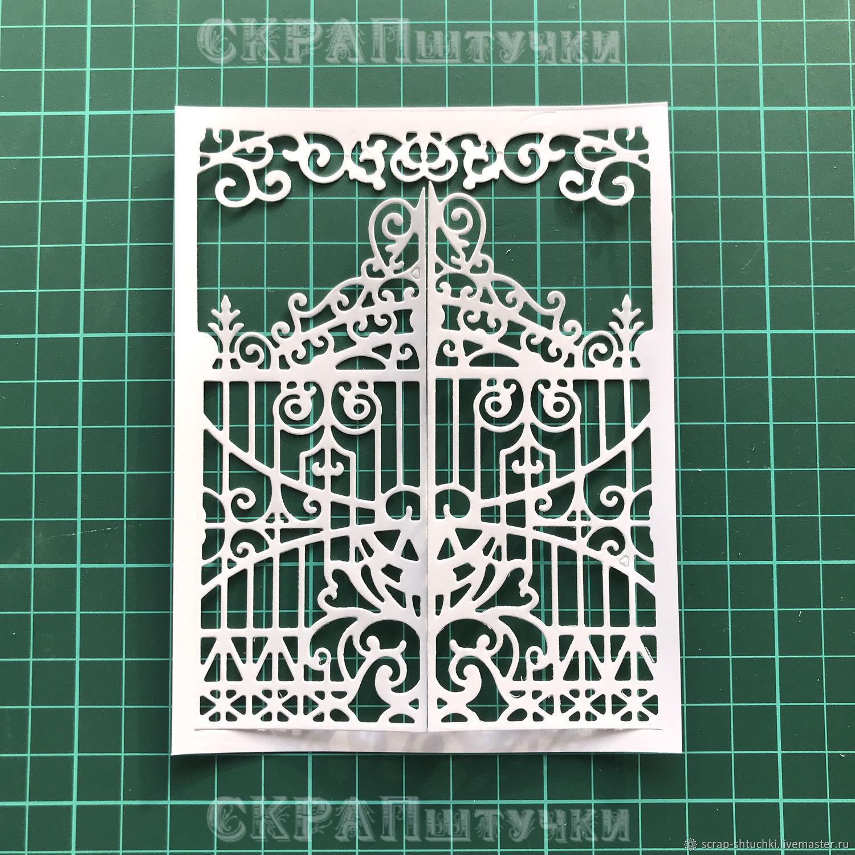 Ажурные открытки скрапбукинг