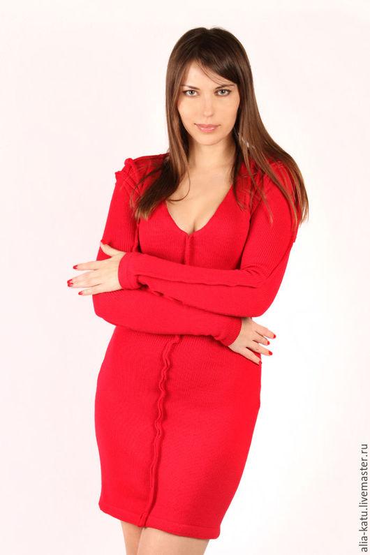 """Платья ручной работы. Ярмарка Мастеров - ручная работа. Купить Платье """"Дракон"""". Handmade. Ярко-красное платье"""