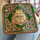 Order Men's leather wallet 'bear King'. schwanzchen. Livemaster. . Wallets Фото №3