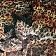 Ткань Жаккард. Сочетание леопардового рисунка и цветочной фактуры, делает ткань необычной и интересной. Производство Италия,  ширина 140. Цена 2618