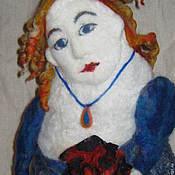 Для дома и интерьера ручной работы. Ярмарка Мастеров - ручная работа Дама с розой. Handmade.