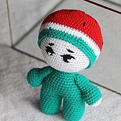 Куклы и игрушки handmade. Livemaster - original item Doll in a watermelon costume.. Handmade.