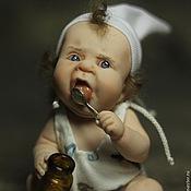 Куклы и игрушки ручной работы. Ярмарка Мастеров - ручная работа Обжорик)). Handmade.
