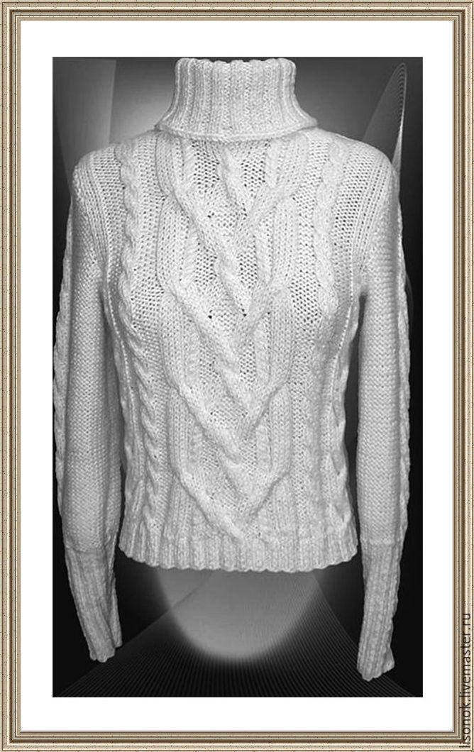 Knitted sweater 'Snow', Sweaters, Chekhov,  Фото №1