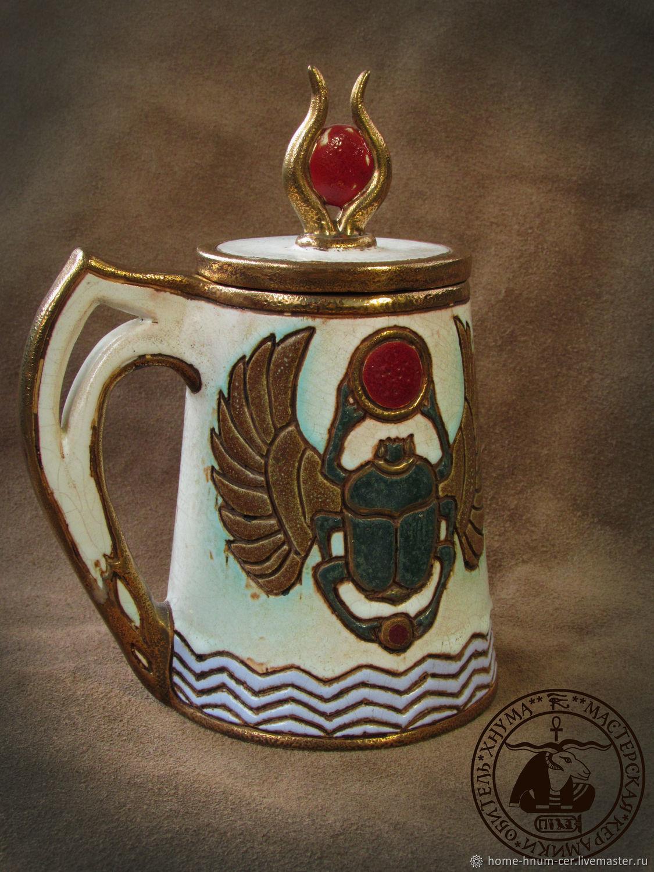 Mug artifact `Light RA` Master: Isaev `Khnum` Eugene