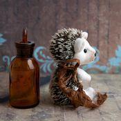Куклы и игрушки ручной работы. Ярмарка Мастеров - ручная работа тедди ёжик Ёженька. Handmade.