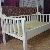 Для дома и интерьера ручной работы. Ярмарка Мастеров - ручная работа Детская кроватка-домик из дерева.. Handmade.