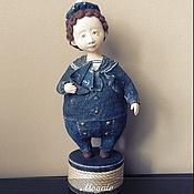"""Куклы и игрушки ручной работы. Ярмарка Мастеров - ручная работа Авторская кукла """"По морям по волнам"""". Handmade."""