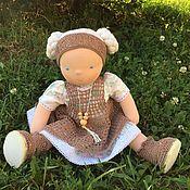 Куклы и игрушки handmade. Livemaster - original item Evdokia - Waldorf doll. Handmade.