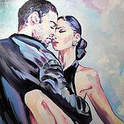 """Картины и панно ручной работы. Ярмарка Мастеров - ручная работа """"Танго с надрывом"""". Handmade."""