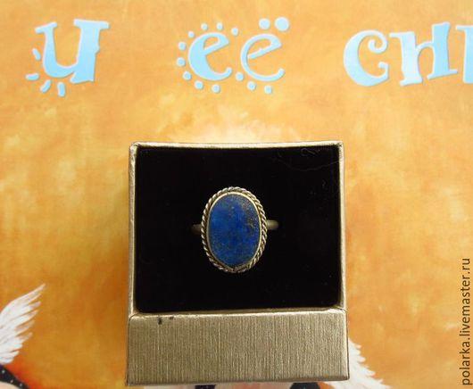Кольца ручной работы. Ярмарка Мастеров - ручная работа. Купить Кольцо с афганским лазуритом, Афганистан, винтаж. Handmade. Натуральный лазурит