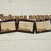 Сувениры и подарки ручной работы. Ярмарка Мастеров - ручная работа Подарок подруге оригинальная фоторамка. Handmade.