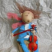 Куклы и игрушки ручной работы. Ярмарка Мастеров - ручная работа Он был музыкантом.... Handmade.