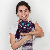 Куклы и игрушки ручной работы. Ярмарка Мастеров - ручная работа Чеширский кот (фиолетовый). Handmade.