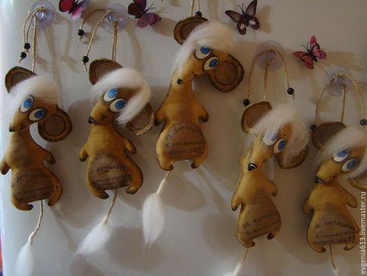 Ароматизированные куклы ручной работы. Ярмарка Мастеров - ручная работа. Купить Мышка. Handmade. Коричневый, сувенир