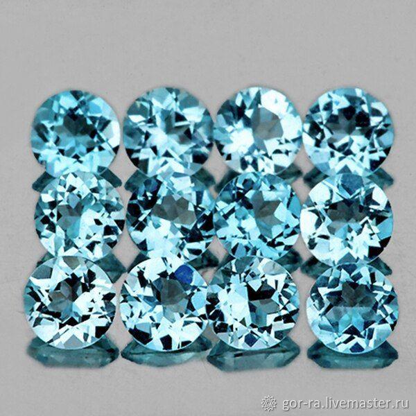 Topaz 4 mm, Minerals, Yoshkar-Ola,  Фото №1