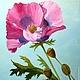 """Картины цветов ручной работы. Ярмарка Мастеров - ручная работа. Купить 127. Картина маслом """"Маки диптих"""". Handmade."""