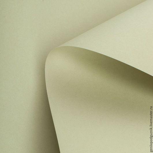 Открытки и скрапбукинг ручной работы. Ярмарка Мастеров - ручная работа. Купить Дизайнерская бумага  А4 KIWI фисташковый 250 г/м. Handmade.