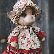 Куклы и игрушки ручной работы. Ярмарка Мастеров - ручная работа Обезьянка с ягодами.. Handmade.